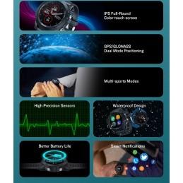 Um smartwatch feito para manter a sua vida ativa, que alia a elegância e o conforto com múltiplas funções. Esqueça o tempo em que relógio indicava apenas a hora