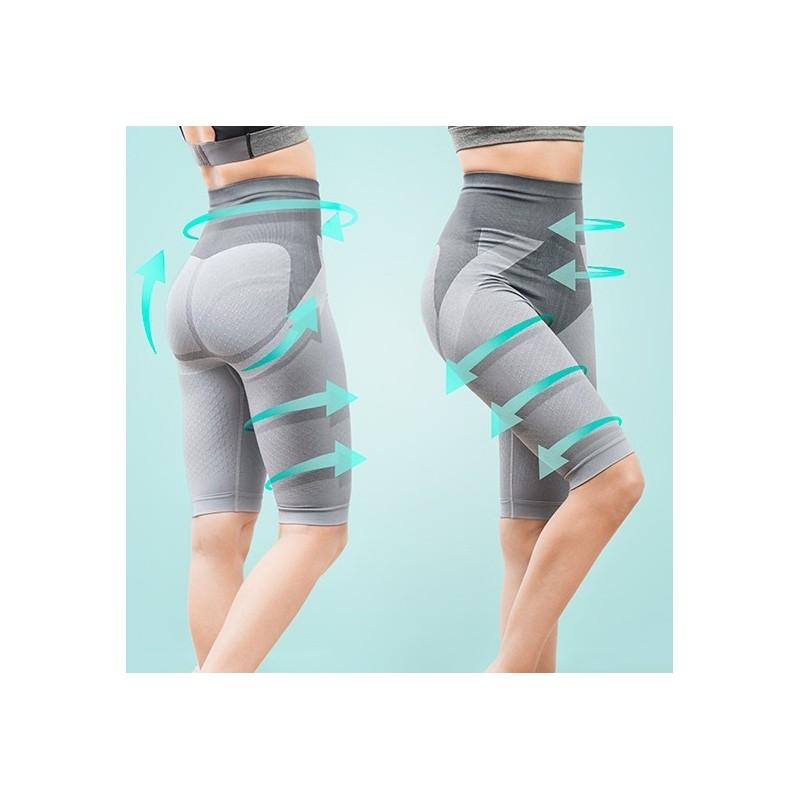 Uns calções redutores integrais que são ideais para moldar e estilizar a silhueta e ainda favorecer a eliminação de toxinas