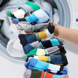 A sua máquina de lavar come as suas meia - Com este organizador de meias você terá em vista todas as meias perdidas e espalhadas