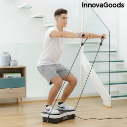 Uma plataforma vibratória de treino completo com acessórios para garantir os melhores resultados.