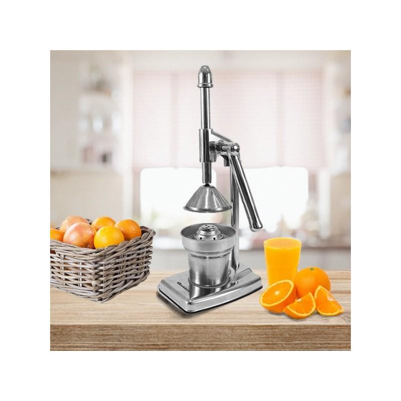 Extraia os maiores benefícios frescos e naturais dos citrinos com apenas um simples aperto.