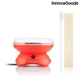 Uma máquina para se divertir em casa a fazer algodão doce com facilidade e em poucos minutos.