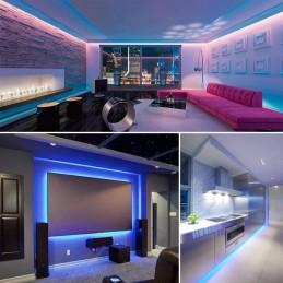 Perfeito para decoração de janelas de loja, exposições, escadas, iluminação de bares e discotecas, locais em casa, etc.
