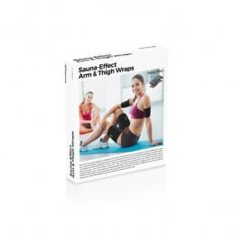 Ideal para intensificar os resultados do exercício e combater com maior eficácia a flacidez dos braços e a celulite das coxas