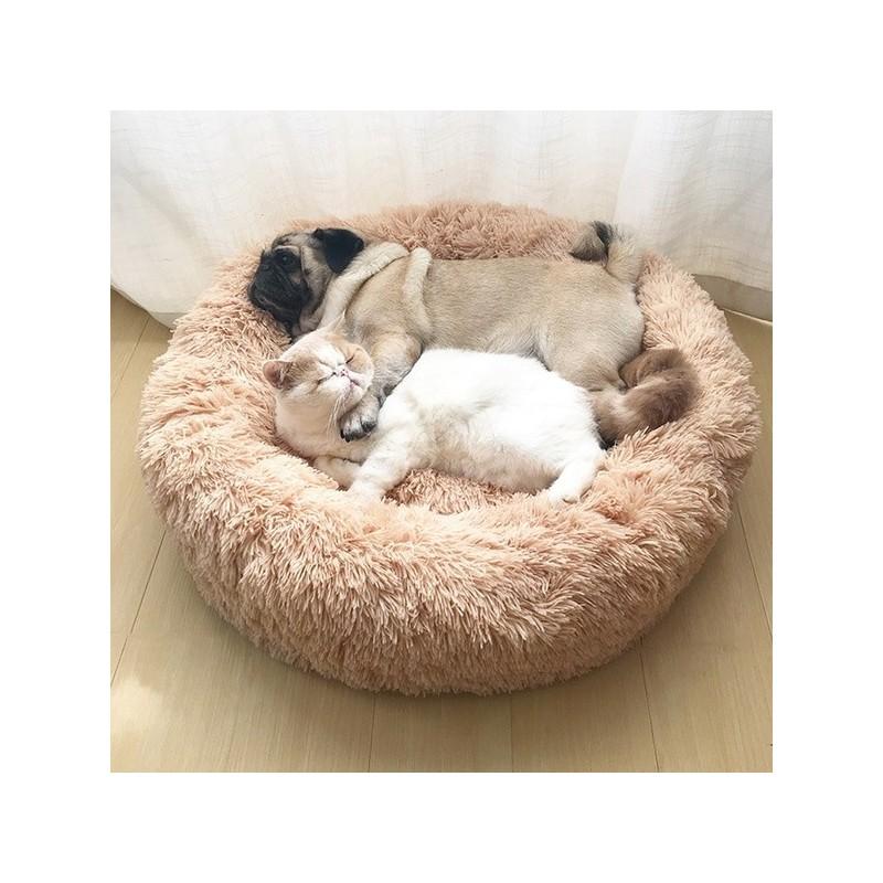 Esta é a cama ideal para o seu animal de estimação, pois proporciona o melhor conforto aliado a um efeito calmante.