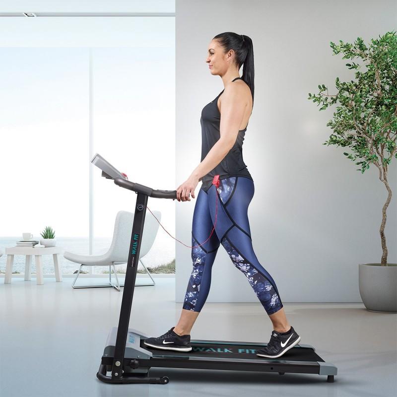 Passadeira Eléctrica 1 CV é uma passadeira de corrida elétrica que lhe vai permitir fazer desporto - caminhar ou correr - sem sair de casa
