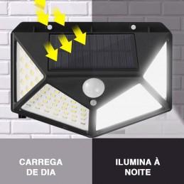 Ilumine os seus espaços interiores e exteriores com a ajuda deste fantástico LED com sensor de movimento com carregamento a luz solar