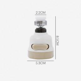 Lave melhor os seus pratos usando menos água com esta cabeça de torneira inovadora 360 graus.