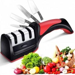 Com este versátil Afiador de Facas vai economizar tempo e dinheiro quando afiar as facas de sua casa, garantindo sempre o melhor corte.