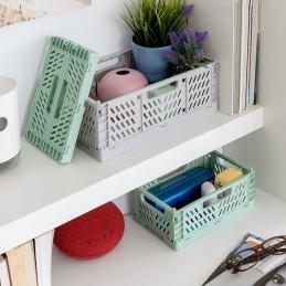 Caixas organizadoras multifuncionais, originais e decorativas, devido à sua concessão e cores plenas de estilo