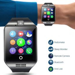 Pode utilizar-se como um relógio inteligente, também é um telefone GSM. Com possibilidade de inserir cartão SIM e fazer chamadas telefónicas diretamente