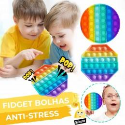 Está a sofrer de stress e procura uma maneira divertida para relaxar, Então este Fidget Bolhas sensorial anti-stress é a solução perfeita para si