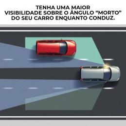 Um espelho que vai facilitar a sua vida no que toca à sua condução, aumentando e facilitando a sua visibilidade.