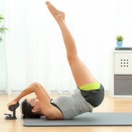Uma barra de fixação com ventosa, perfeita para treinar em casa ou em qualquer outro local, já que ocupa pouco espaço e é fácil de transportar.