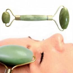 Uma ferramenta de excelência para usar a pele que simplesmente rola por todo o rosto fazendo uma massagem facial que lhe dará uma pele radiante.