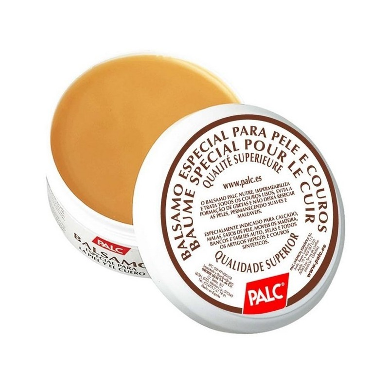 Balsamo para limpeza de peles à base de cera, Palc